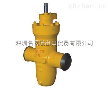 進口燃氣埋地平板閘閥|燃氣閘閥埋地式