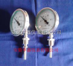不锈钢耐震温度计/WSS-411N/WSSN-411/WSSZ-411 WSS-411Z 100表盘