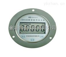 CWY100-安裝盤軸向數字壓力表CWY100