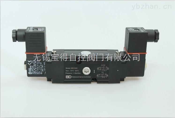 雙電控本安隔爆鋁合金電磁閥