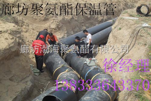 冬季热销直埋聚氨酯保温管 供热管道钢套钢保温管报价