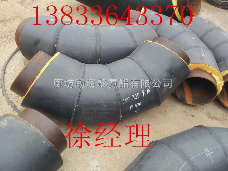 高密度聚乙烯壳预制直埋保温管  钢套钢保温管供应商