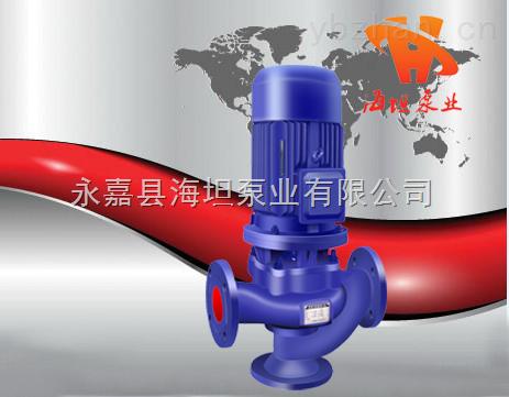 立式管道排污泵GW型