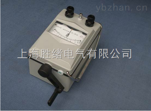 ZC25B-4型手摇式兆欧表