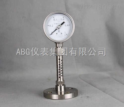 防腐耐高温压力表