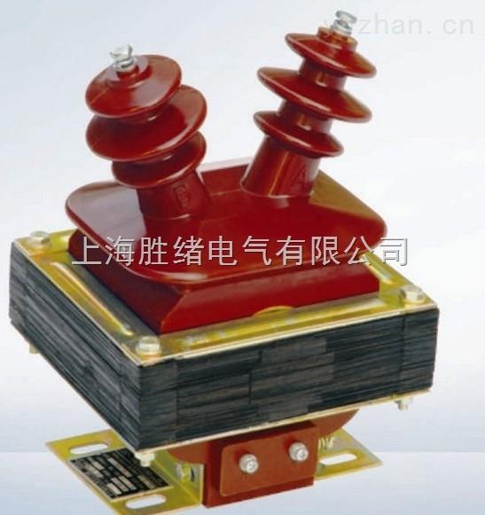 电压互感器将高电压按比例转换成低电压,即100v,电压互感器
