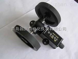 特价滚轮式高精度数显可加减计米器 编码器配套计米轮
