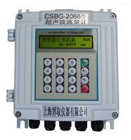 上海外夹式超声波流量计厂家,配两个传感器安装于管道上