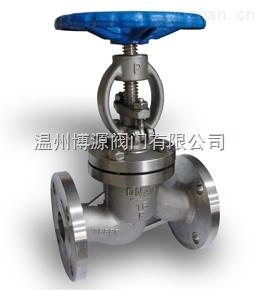 J41W-100P不銹鋼法蘭截止閥 重型正材質