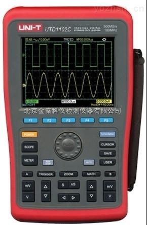 手持式数字存储示波器UTD1102C厂家北京金泰科仪批发零售