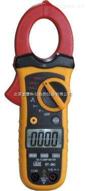 小型雙注塑自動量程交/直流鉗型表DT-360價格香港CEM總代理