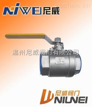 Q11F-16P-二片式絲扣球閥
