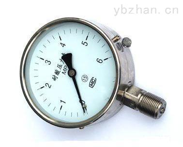 YBF-60不锈钢压力表