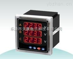XK-CD194U-2D4T-XK-CD194U-2D4T三相電壓表