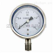 不銹鋼耐震壓力表作用