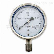 不锈钢耐震压力表作用