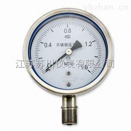 普通不銹鋼耐震壓力表