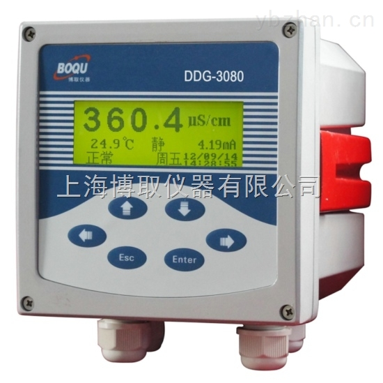 管道式安装0-300ms/cm大量程电导率采用感应式电导率