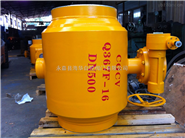 Q367F-DN400-16C 全焊接球阀