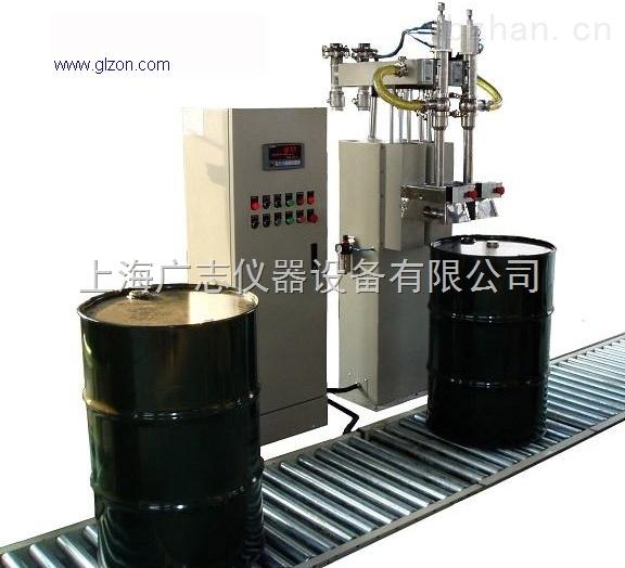 200升自动称重灌装机适合2种物料灌装