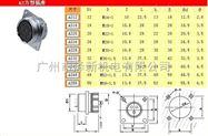 zui新10芯優質CE航空插座連接器