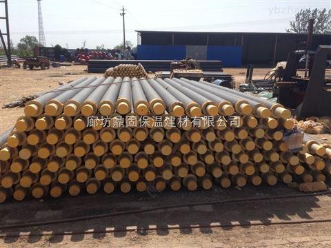 塑套钢直埋热力聚氨酯保温管今日价格