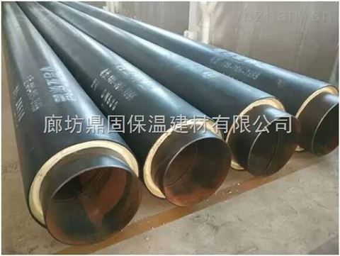 89*4预制直埋聚氨酯保温钢管实时报价