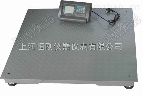 2吨落地电子地磅秤_2000公斤平铺地上衡