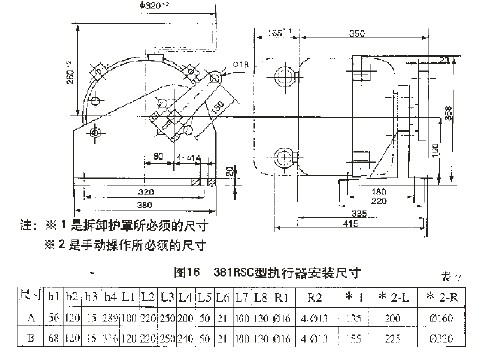 三, 3810r角行程阀门电动执行器力矩开关工作原理