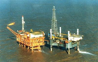 由中国海油工程建设部和中海油研究总院统一规划的首座海上平台水文