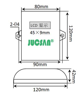绝对湿度传感器jcj200j,温湿度变送器,温湿度传感器