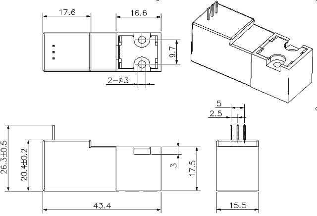 电路 电路图 电子 户型 户型图 平面图 原理图 640_436