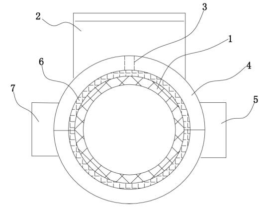 """【背景简要】      传统整体式小口径超声水表的""""一次仪表""""——水流量传感器(包括测量管与超声换能器)和""""二次仪表""""——信号处理与显示部件合为一体。如专利号为ZL201320319950.1的中国实用新型专利,公开了一种超声水表,包括壳体、两个探头组件、流量积算仪、表头密封组件、外输出插座组件和两个带整流器的反射装置,所述壳体内部设置有一水流管道,壳体外侧壁上设置有一凸出的表头;表头内部设置有表头密封组件"""