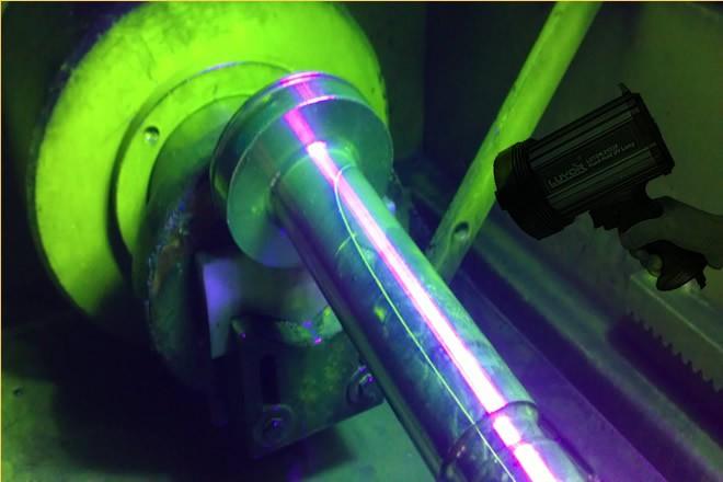 便携式LED紫外线探伤灯
